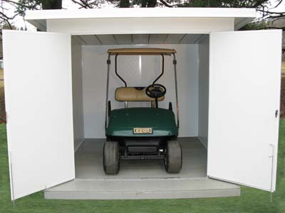 Rv storage plans rv storage and service house plan 70801 for Golf cart plans